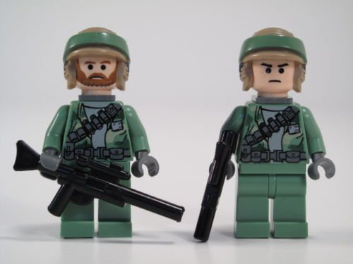 LEGO STAR WARS MINIFIGS 2 REBEL COMMANDO FROM SET 8038