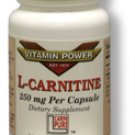 L-CARNITINE 250 mg Capsules 30 Count