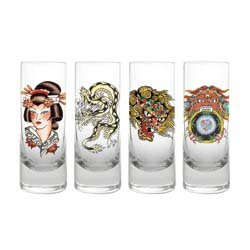 Ed Hardy Shooters Tall Brand New and In the Box