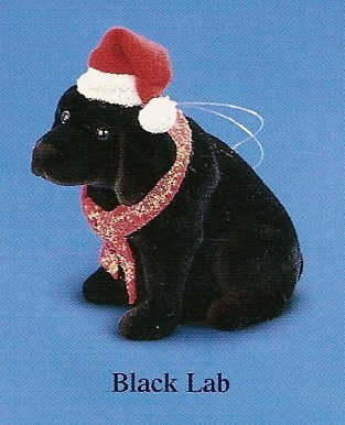 Russ Berrie Bobble Head Dog - Wags to Whiskers - Medium Black Lab FREE USA SHIPPING