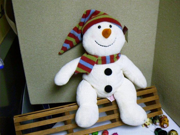 Russ Berrie Plush Snowman - Snowdin - FREE USA SHIPPING!
