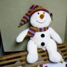 Russ Berrie Plush Snowman - Snowdin - Jesus Loves Me FREE USA SHIPPING