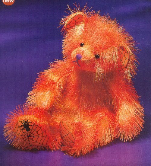 Russ Berrie Halloween Softies Plush Teddy Bear - Moonlight  FREE USA SHIPPING!!