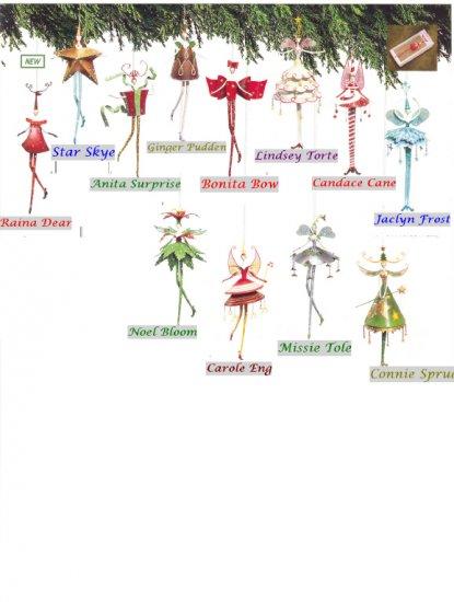 Russ Berrie Masquerade Ball Ornament - Bonita Bow FREE USA SHIPPING!!!