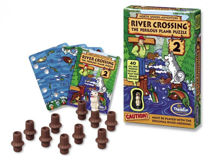 River Crossing 2 Expansion Card Set by Thinkfun FREE USA SHIPPING!!