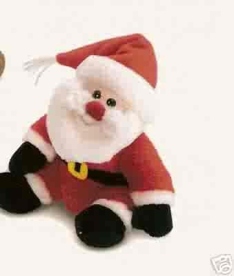 Russ Berrie Winter Pals - Plush Santa  FREE USA SHIPPING!!!