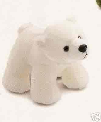 Russ Berrie Winter Pals - Plush Polar Bear  FREE USA SHIPPING!