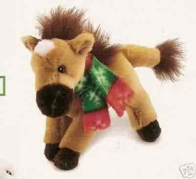 Russ Berrie Winter Pals - Plush Horse  FREE USA SHIPPING!!