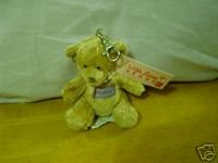 Russ Berrie With Love Bears Clip On - Personalized - Amanda  FREE USA SHIPPING!