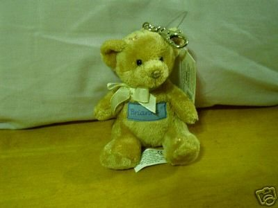 Russ Berrie With Love Bears Clip On - Personalized - Brianna  FREE USA SHIPPING!!!