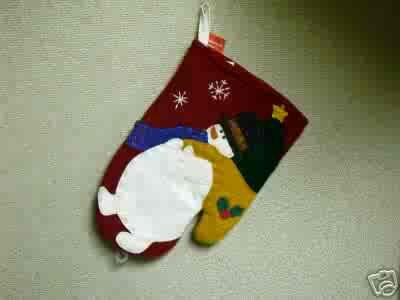 Russ Berrie Christmas - Moments of Wonder Snowman Oven Mitt FREE USA SHIPPING