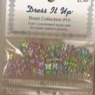 Dress It Up Bead Collection #10 - Acrylic Flowers & Butterflies FREE USA SHIPPING!