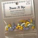 Dress It Up Bead Collection #26 - Cool Colors Acrylic FREE USA SHIPPING!