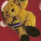 Russ  Christmas Glitter Gang Plush Window Cling - Puppy FREE USA SHIPPING!