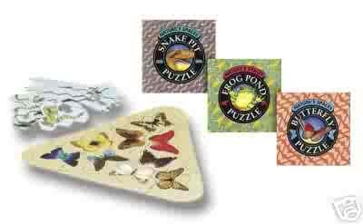 Nature's Spaces Frog Puzzle by Thinkfun - FREE USA SHIPPING!