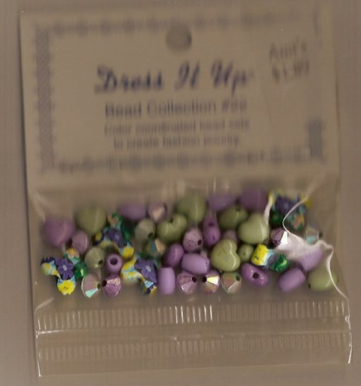 Dress It Up Bead Collection # 22 - FREE USA SHIPPING!