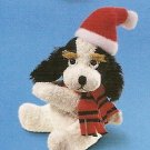 Russ Christmas Luv Pets Clip Black/White Santa Puppy - Party Favor Stocking Stuffer FREE USA SHIP!