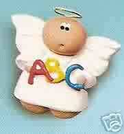 Angel Cheeks Lapel Pin - Teacher - ABC - FREE USA SHIPPING!