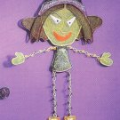Russ Halloween Happy Hauntings Metal Mesh Wall Hanging - FREE USA SHIPPING!