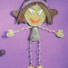 Russ Halloween Happy Hauntings Metal Mesh Wall Hanging - FREE USA SHIPPING!
