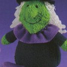 Russ Berrie Halloween Plush Boo Buddies - WITCH FREE USA SHIPPING!!!