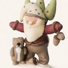Russ Peace in the Meadow Medium Figurine - Santa with Squirrel - FREE USA SHIPPING!!  32333