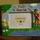 Russ Berrie Skribbles Photo Frame - My Daddy is Special  25590 FREE USA SHIPPING!