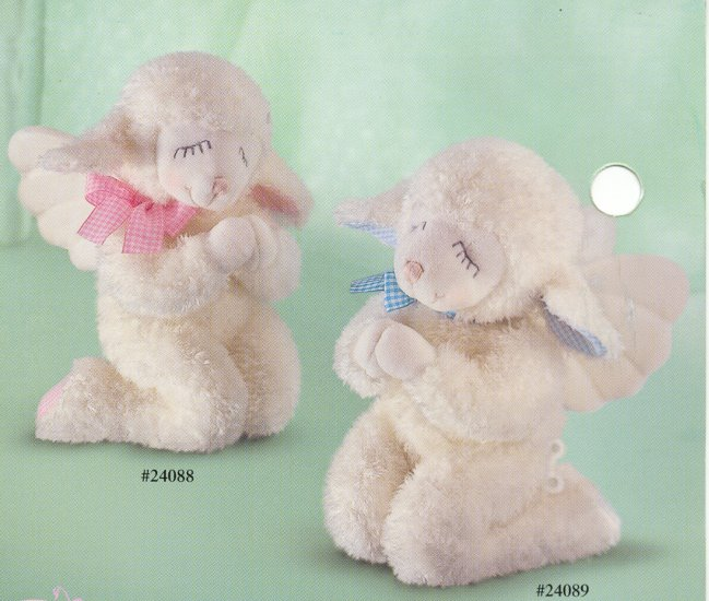 Russ Goodnight Prayer Lamb PINK - FREE USA SHIPPING!