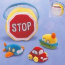 Russ Plush Transportation Activity Set - FREE USA SHIPPING!