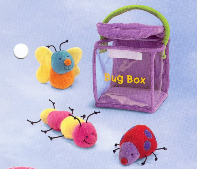 Russ Bug Box Plush Activity Set - FREE USA SHIPPING!