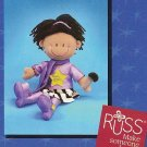 Russ Make A Wish Rock Star Velour Doll FREE USA SHIPPING!
