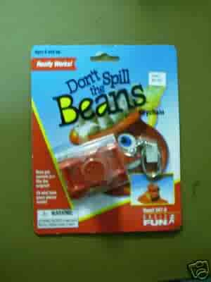 Don't Spill the Beans Classic Games Keychain by Basic Fun FREE USA SHIPPING!!