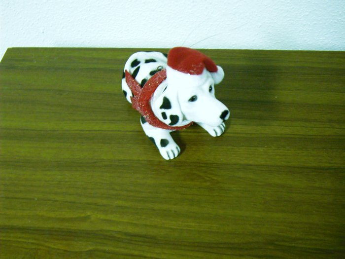 Russ Berrie Bobble Head Dog - Wags to Whiskers - Medium Dalmatian FREE USA SHIPPING