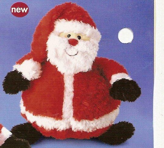 Russ Christmas - Celebration of the Season Plush Cringle Santa Doll FREE USA SHIPPING