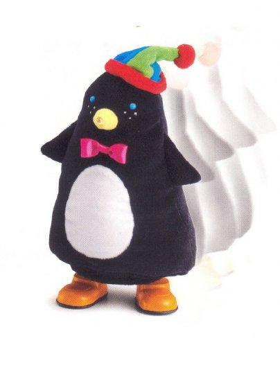Russ Berrie Christmas - Santa's Toyland Musical Walking Penguin FREE USA SHIPPING!