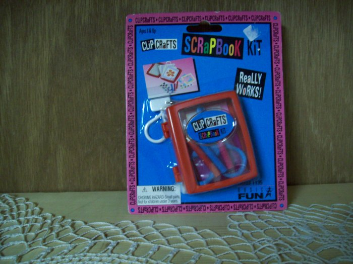 Clip Crafts Scrapbooking Keychain by Basic Fun FREE USA SHIPPING!!