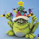 Russ Toadily Yours Christmas Frog with Christmas Lights 22654 FREE USA SHIPPING!