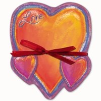 Valentine Heart Shaped Notepad - Love  FREE USA SHIPPING!