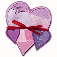 Valentine Heart Shaped Notepad - Forever Yours FREE USA SHIPPING!!