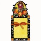 Halloween Spooky Notes Notepad - Kitty Cat Pumpkin Patch  FREE USA SHIPPING!!!