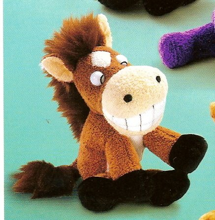 Russ Berrie Luv Pets - Grinnies - Plush Horse --FREE USA SHIPPING