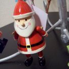 Russ Berrie Santa's Toyland Pull & Dangle Christmas Ornament - Santa