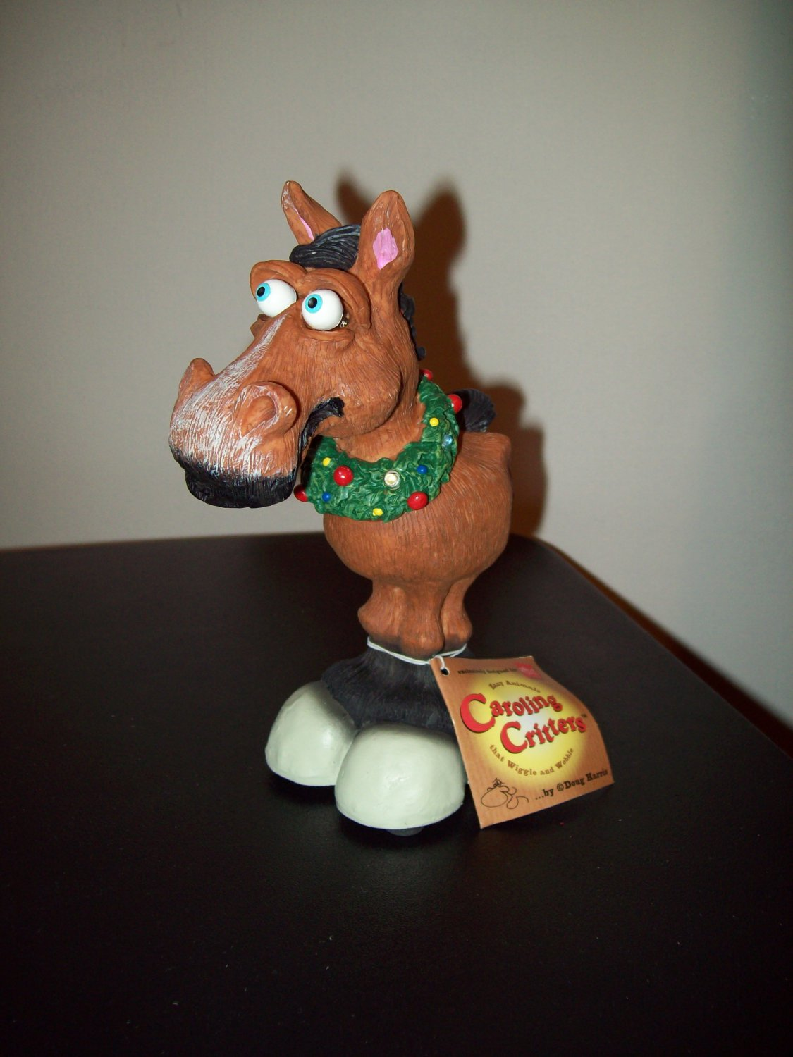 Russ Berrie Caroling Critters - Horace the Horse