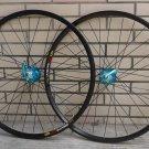 Mavic 317 Novatec HUB Disc wheelset WHEEL SET BLUE