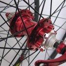 Mavic 317 Novatec HUB Disc wheelset WHEEL SET RED
