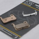 NZKW SINTERED DISC PADS FOR SHIMANO XTR XT LX DEORE HONE SAINT  FREE SHIPPING