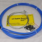 BICYCLE JAGWIRE L3  HOUSING CABLE COMPLETE KIT BLUE SRAM AVID SHIMANO