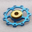 CNC WORK JOCKEY WHEEL SUPER LIGHT 1 pc  BLUE  KCNC OEM