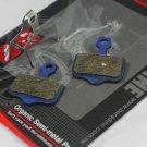 ORGANIC SEMI METAL DISC BRAKE PADS FOR AVID ELIXIR SRAM XX XO Kevlar refinforce