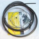 JAGWIRE BRAIDED HOUSING CABLE COMPLETE KIT CARBON COLOR